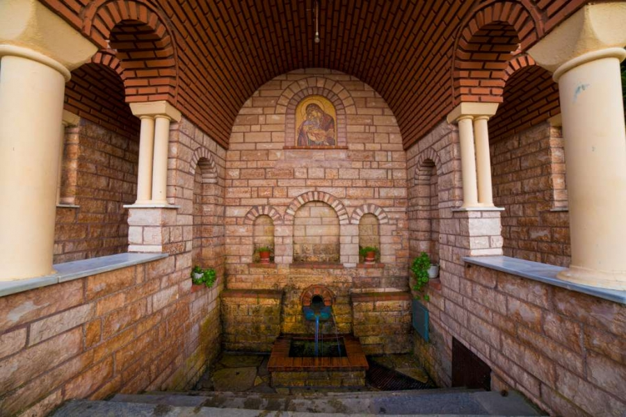 Monastery of St. Demetrios, Panorama Suites & Spa : Hotels Stomio Olympus Beach Resort