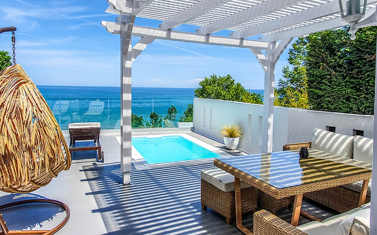 MYSTIC SUITE - Panoramic Sea View - Private Garden - Outdoor Hot Tub